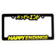 Car Plate Frames Number Car License Plate Frame Custom Design Raised Plastic Car License Plate Frames Number Plate Holder Wholesale License Plate Cover
