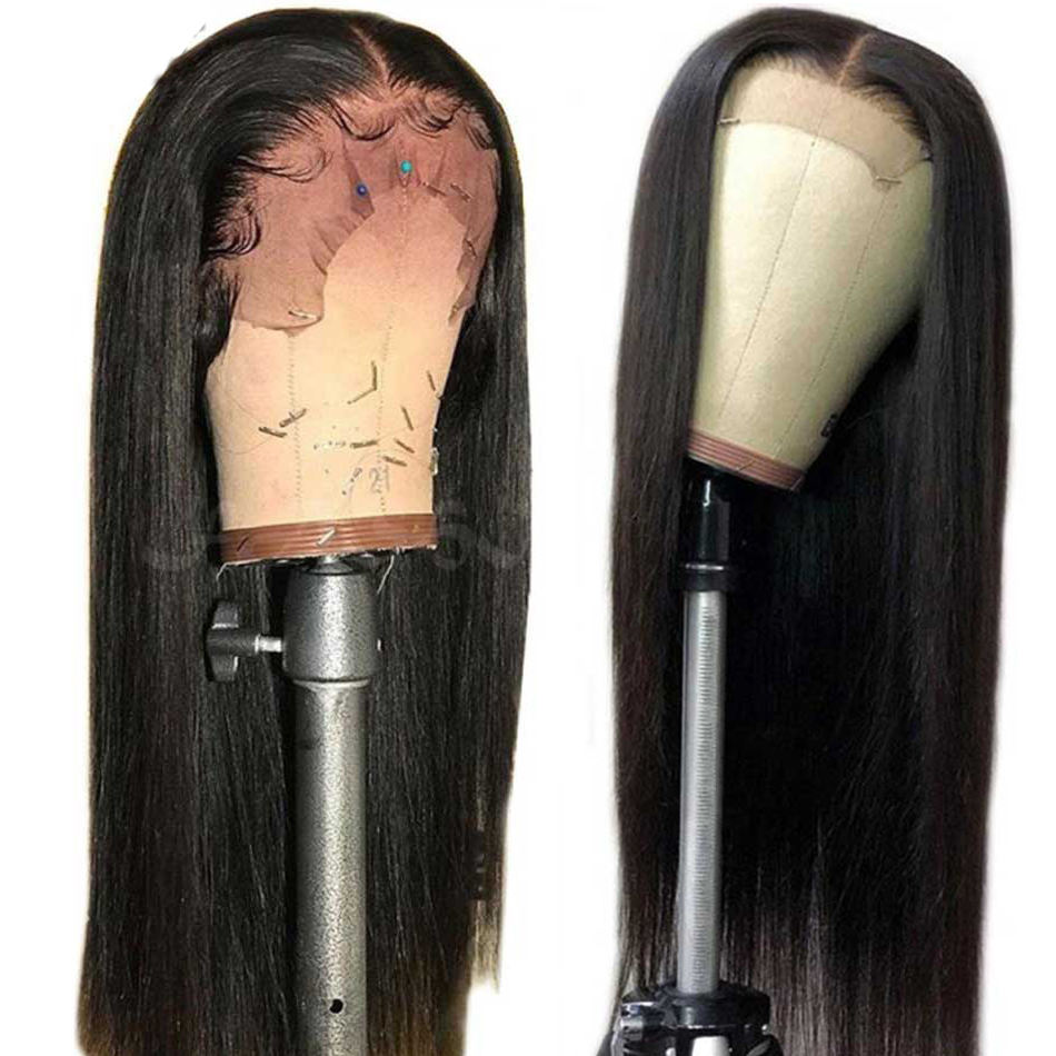 Factory Price Swiss 13X6 Hd Lace Frontal Wig Pre Plucked Brazilian Hair Wig With Black Women 100% Human Hair Wig Lace Front