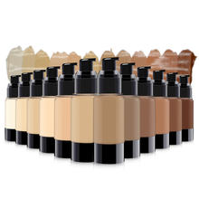 25 color no logo waterproofing material foundation private label body makeup bb cream