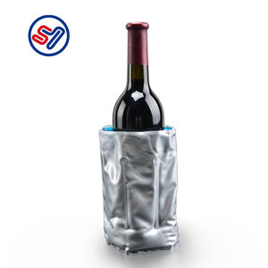 China made bottle can cooler champagne bottle cooler ice pack bottle cooler gel pack