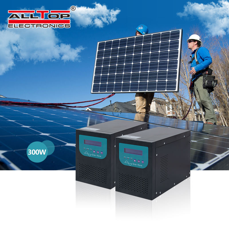 ALLTOP Hot sale solar power system 20 kw 20000 watt pure sine wave ac inverter solar energy system