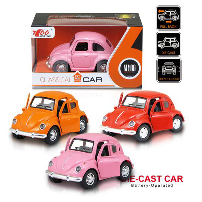 Wholesale 1:36 alloy acousto-optic door model children small car kids toy