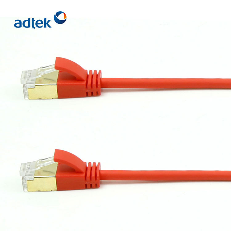 Cat5e 26AWG Patch Cord FTP Network Cable red Color