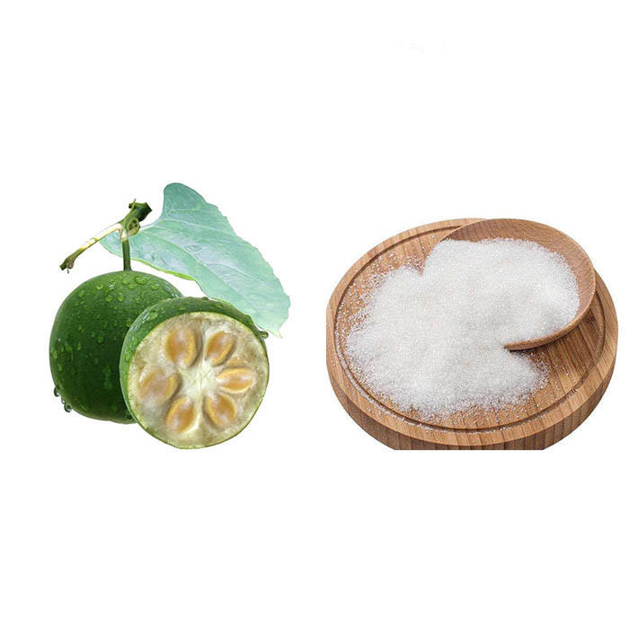 Wholesale bulk natural sweetener monk fruit erythritol blend sugar manufacturer