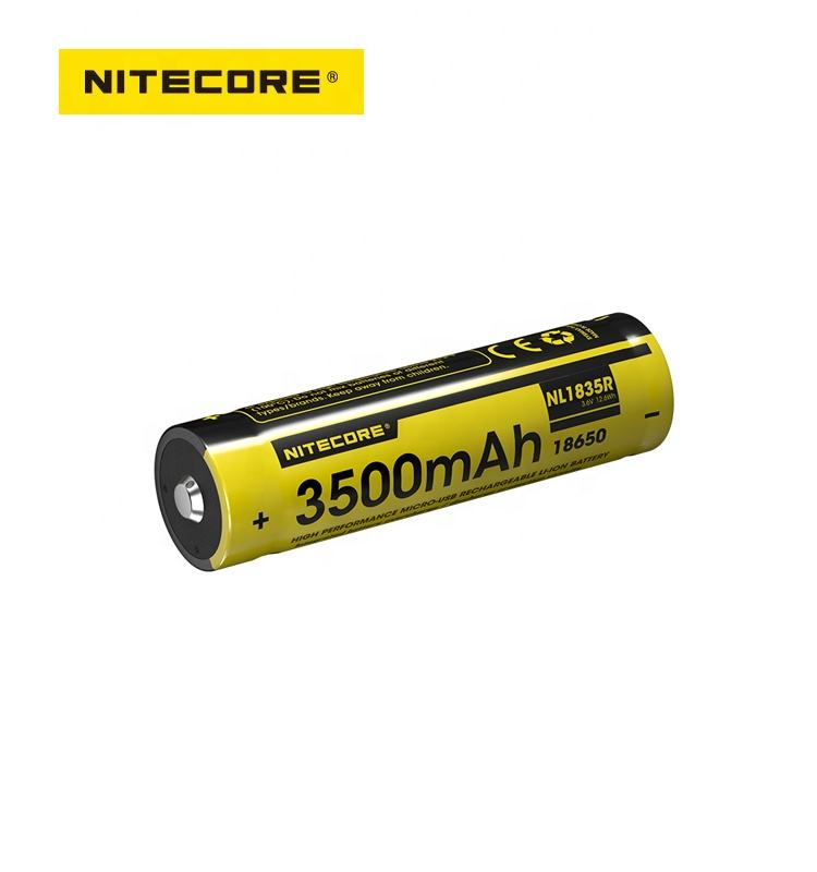 Nitecore NL1835 Batteria ricaricabile Litio 18650 3.6V 3500 mAh