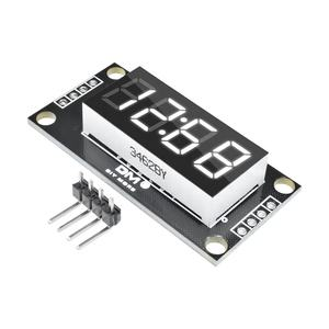 TM1637 4-Digit 0.36 Bianco Digitale Display A LED Tubo Decimale 7 Segmenti Orologio Doppio Dots Modulo 0.36 pollici Per arduino