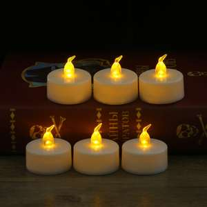 Competitive price thin pillar flameless led candles tea light stick With Good Service
