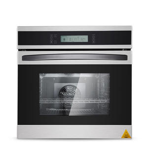 Embedded electric oven home intelligent multi-functional LCD touch 58 L
