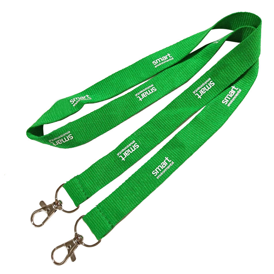 China Printing Bamboo Materials Custom Lanyard For Travel /Business / Fair /Office