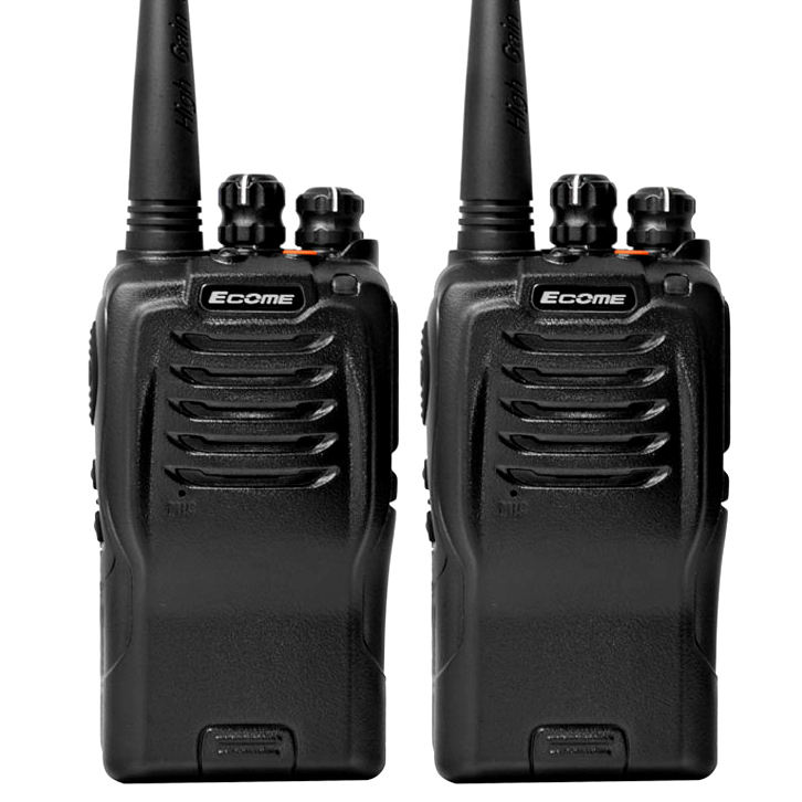 Ecome ET-558 vhf <span class=keywords><strong>uhf</strong></span> <span class=keywords><strong>5w</strong></span> robuste walkie talkie 3km hand lange range two way radio