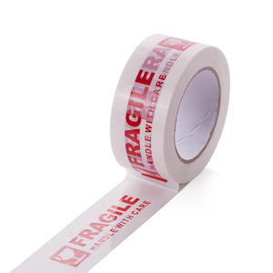 Hot sell printed tape fragile tape 4.8cm*66m