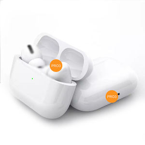 Factory Direct ANC Air 3 Pods Pro i500 TWS BT Eearbuds Earphones GPS Rename Headphones Earpods Stereo with Charging Case