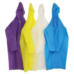 2019 hot sale rainwear customer all kinds colors size reusable poncho easy to carry PEVA material rain poncho