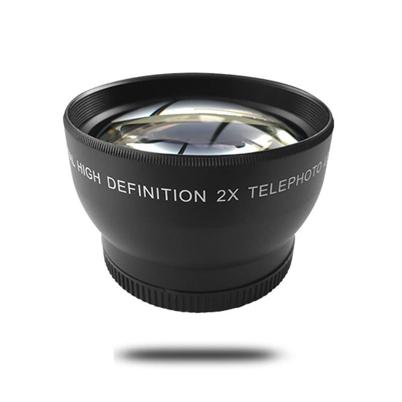 2X Telephoto Lens for Digital Video Camera Camcorder