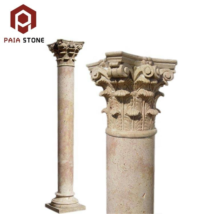 Architectural decorative natural stone column and pillar,column design pillar