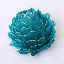 Christmas foam and feather flower ball hanging Ornaments Decorations Tree Balls for Holiday Wedding Party Decoration Hook