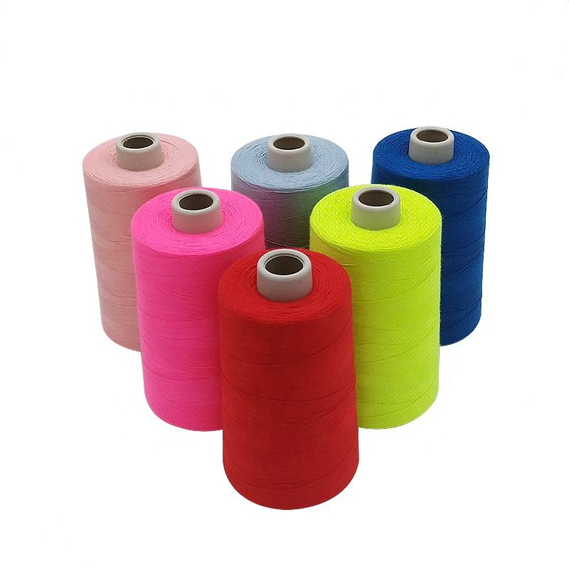 Wholesale 5000 Yards 100% Spun Polyester Sewing Thread Hilo de coser de