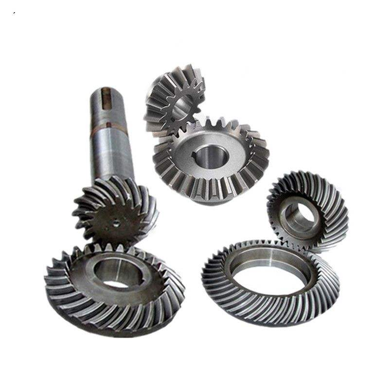 High pressure gearbox parts helical bevel gear