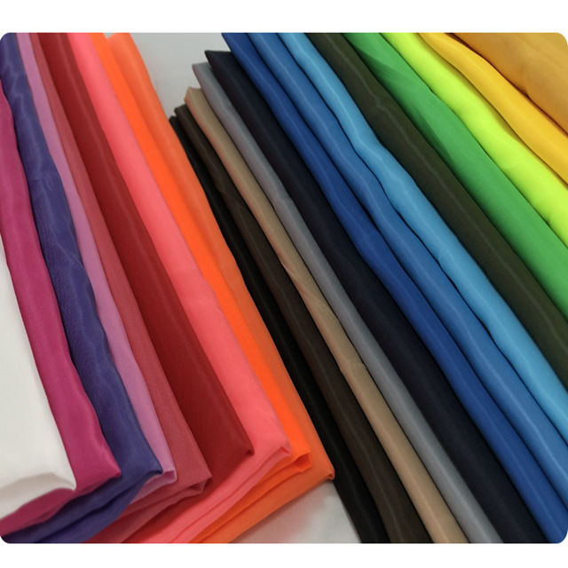China Supplier Polyester Taffeta Coated Waterproof Fabric Umbrella Material