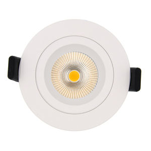 Adjustable Modern Ceiling Led Downlight Cct Dimmable Cob Recessed Led Light Downlight Ceiling Led Downlights