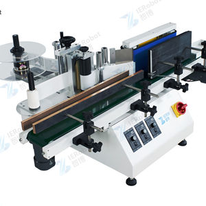 Automatic Label Machine for Round Bottle Wine Bottle Cans Sticking Machine Self Adhesive Label Equipment Manual Labeling Machine
