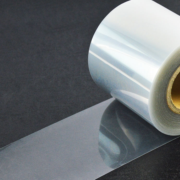 Plastic Rigid Offset Printing Clear PET Film Roll for sale