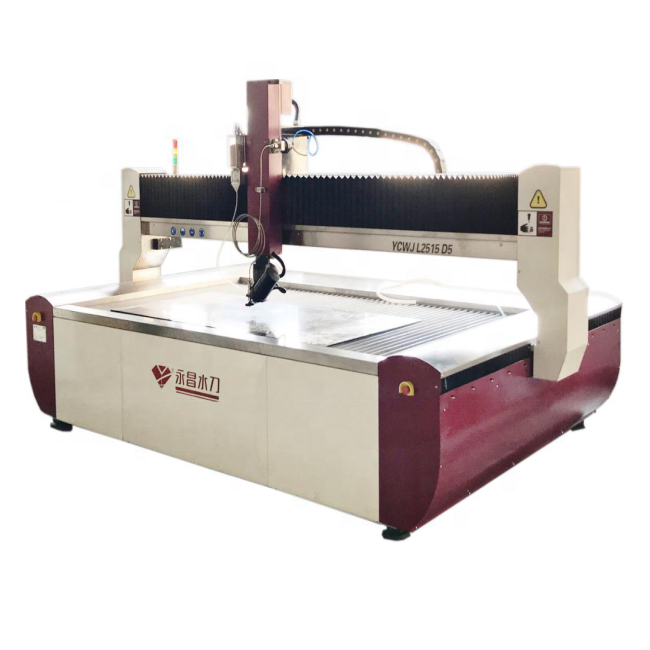 YC waterjet italian marble block granite cutting machine