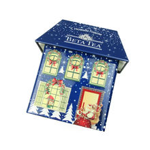 High Quality House Shaped Cookies Tin Box For Christmas Gift
