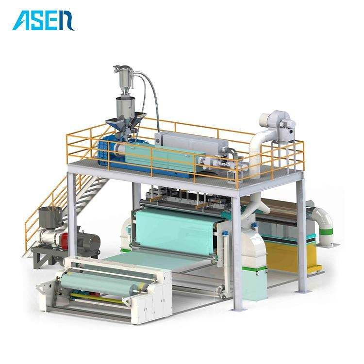 pp meltblown machine/ nonwoven roll cutting machine