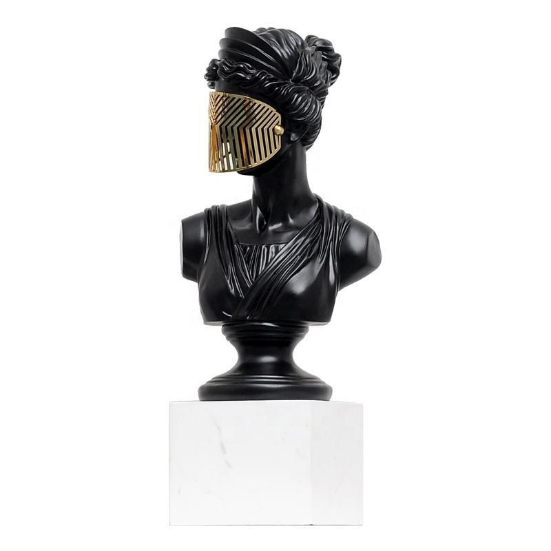 Vénus <span class=keywords><strong>Statue</strong></span> Tête de <span class=keywords><strong>Déesse</strong></span> Grecque <span class=keywords><strong>Sculpture</strong></span> Décoration De Bureau Figurine Romaine Fille Audrey Hepburn Buste <span class=keywords><strong>Sculpture</strong></span>