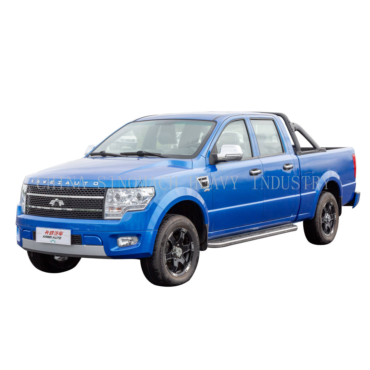 Sinomach Chinese Single Cab Pickup 4 Cilinder Diesel Pickup Trucks
