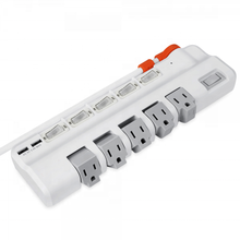 New design usb extension power strip