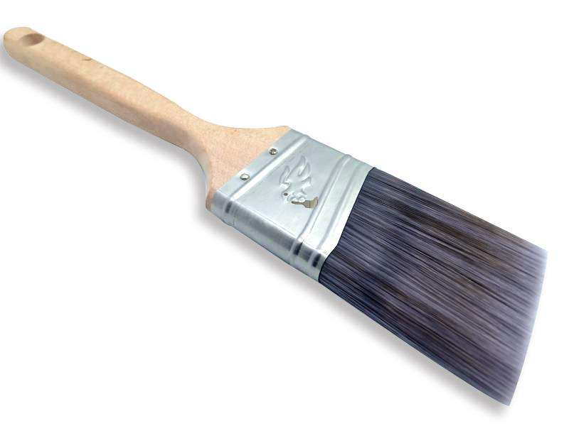 Chinese Style Wood Handle Trim and Walls Polyester Angle 2-in Paint Brush