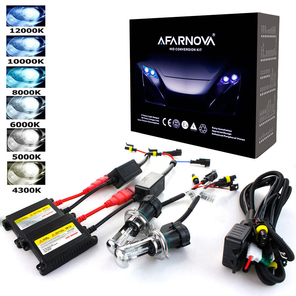 Car Headlight hid xenon kit For H7 H1 H3 H4 H8 H9 H10 H11 H13 H27 9005 9006 HB3 HB4 9004 9007 4300 5000K 6000K 8000K