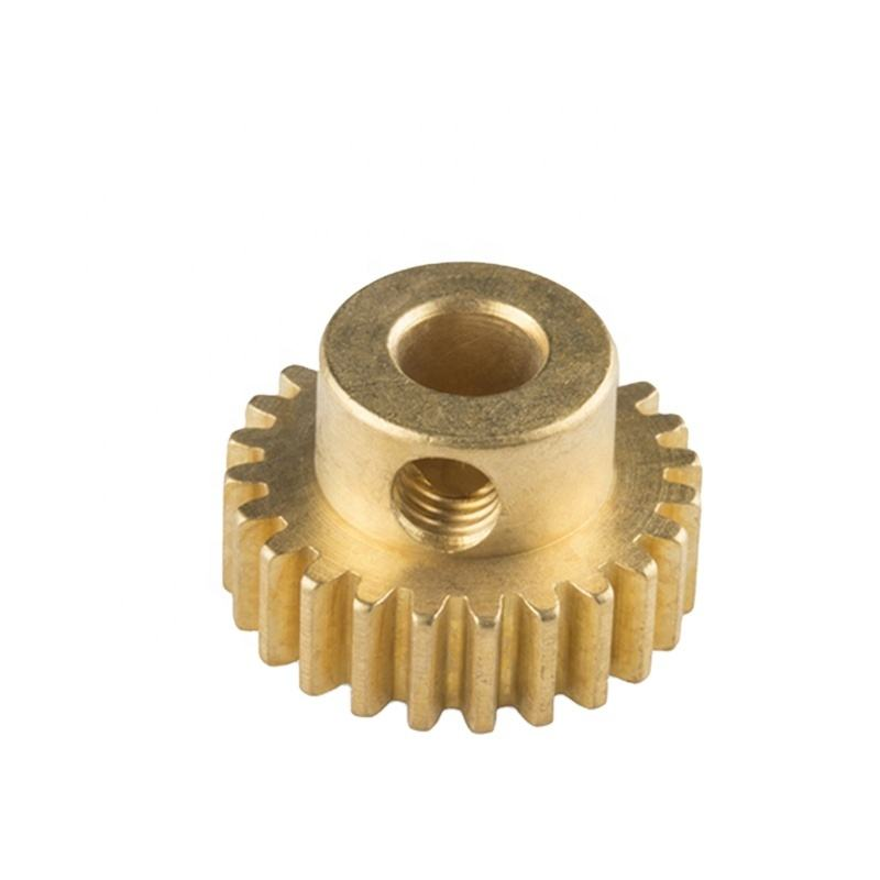 CNC Turning Customized Brass Pinion/Brass Gear