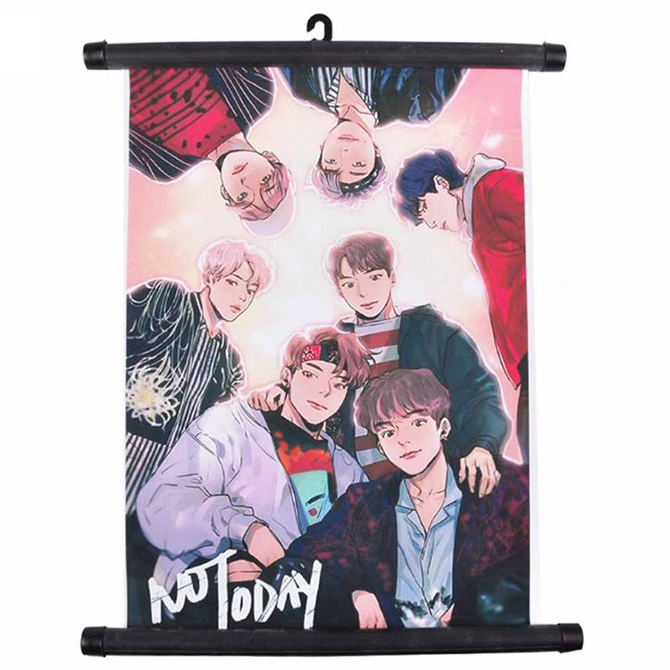 Wholesale Durable Colorful Anime Wall Scroll Up Banner