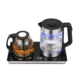 Electric Tea Tray 2020 Best Selling Glass Electric Kettle Digital Tea Tray Set