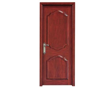 2 panel solid wood interior timber door design for church SW-VN-07