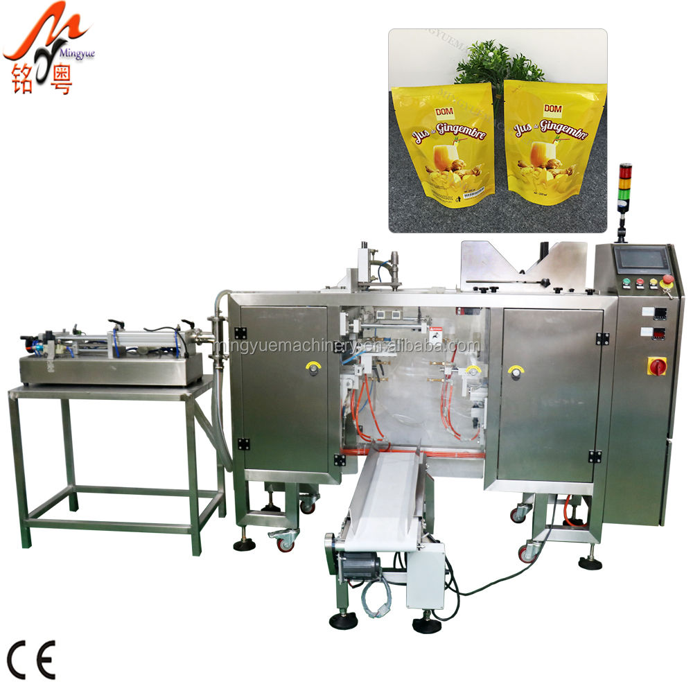 Automatic Coconut Olive Edible Oil Water Liquid Condiments Packing Machine