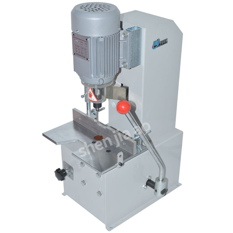 Electric paper hole punch machine Electric Paper Drilling Machine, Single Drilling Hole for Paper Labels Binding Machine, Menu