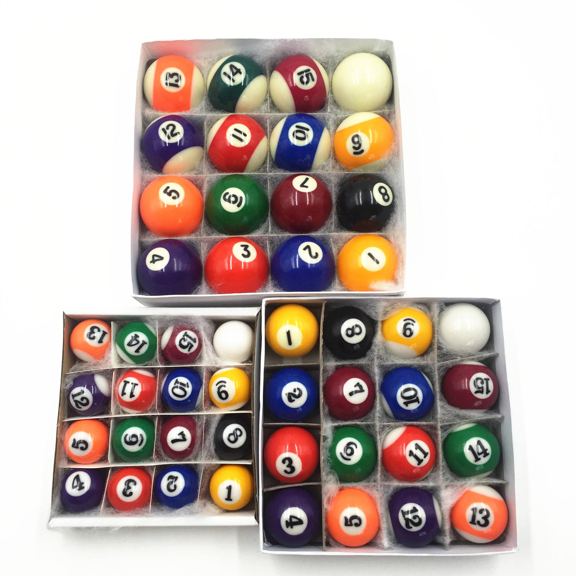 "Hongjie Child Play Billiards Game Billiards Balls 1-1/4""(32mm) for Sale, Pool Accessories"
