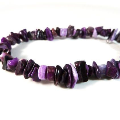 Sugilite Charming Diamond Crystal Armband