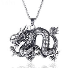 wholesale hot selling handmade vintage snake dragon lion wolf silver and gold lava stone obsidian pendants for men and boys
