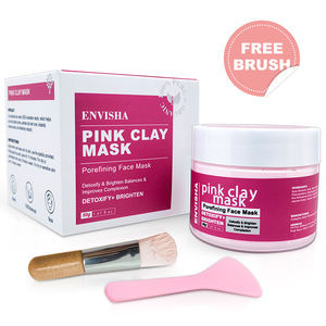 best natural organic whitening healing Australian bentonite face private label pink clay mask