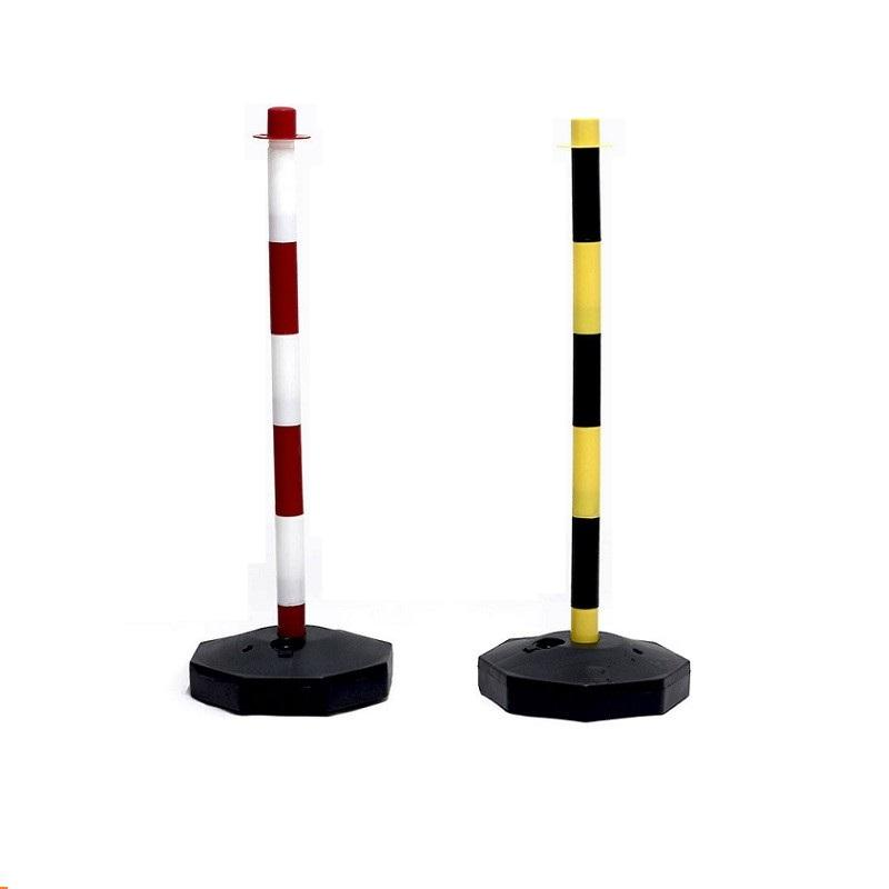 height 830mm plastic warning post water filled safety barriers