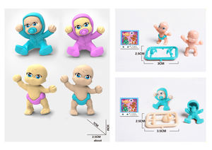 Wholesale juguetes very cheap price diy baby figure plastic mini capsule 1 inch toy