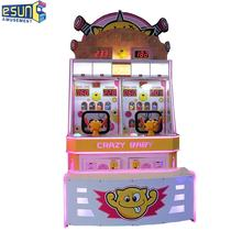 Coin operated capsule ticket vending machine kiddy video games kids game machine ball shooting game machine