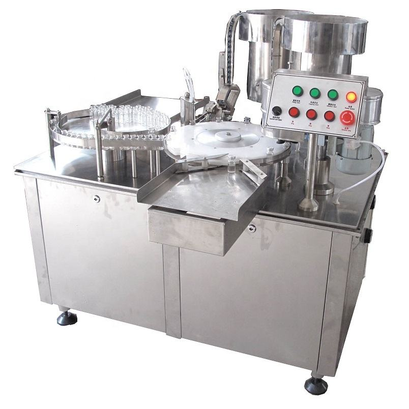 XL-1 Mini Vial Liquid Filling Stoppering (Plugging) And Capping machine