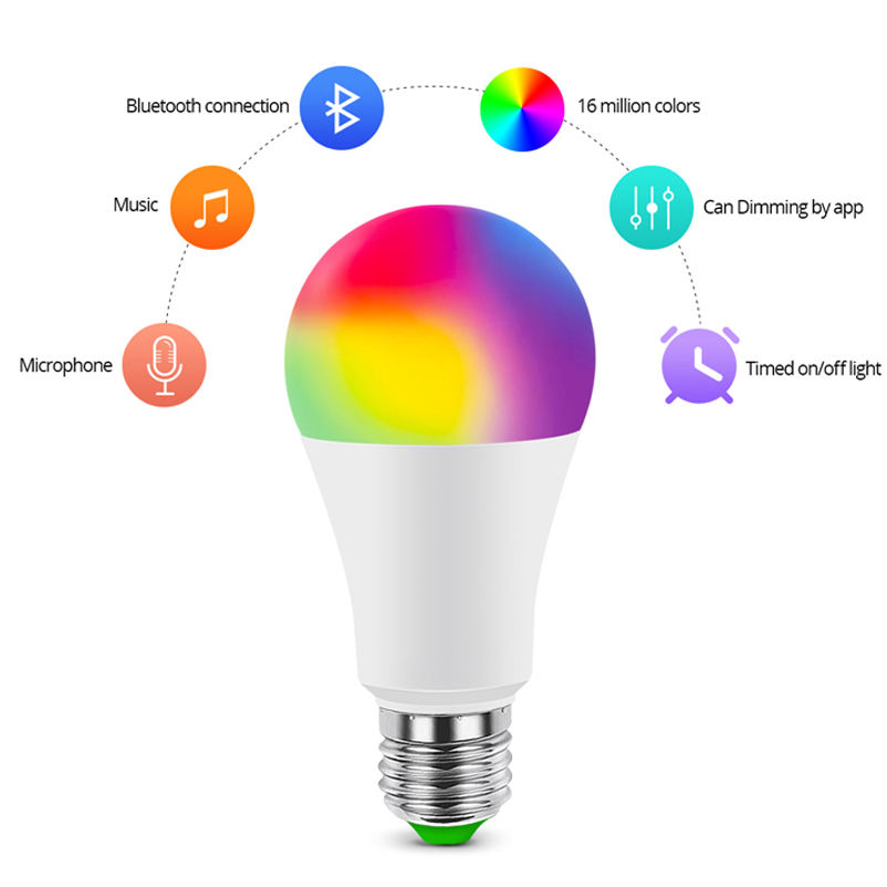 One-Stop Service [ Smart Bulb ] Bulb Led Bulb Low Price E27 9W Rechargeable Electric Smart Led Bulb Lights Led Bulb