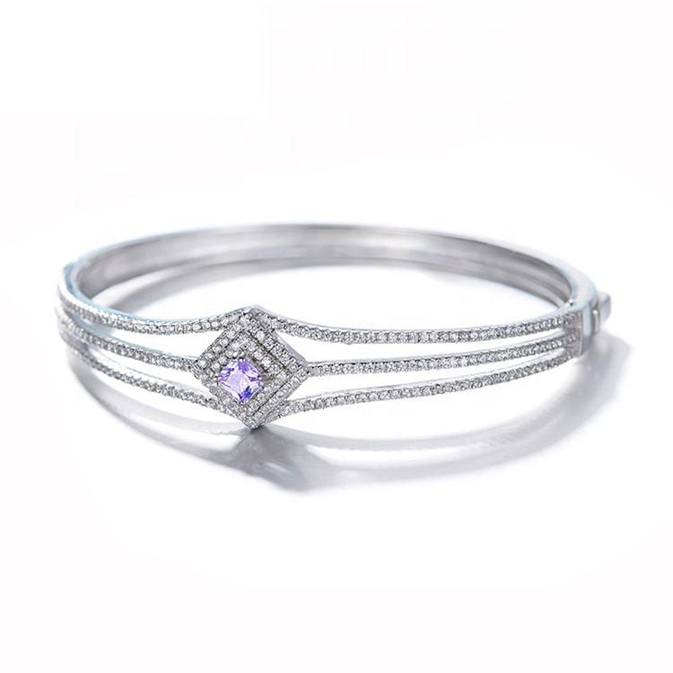 En <span class=keywords><strong>gros</strong></span> Meilleure Vente Dernière Conception Mode Bijoux 925 Bracelets en argent